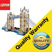 Lepin 17004 Architectural Series 4295PCS Creative Architecture Streetscape London Bridge Children's Assembly Small Particle Toys