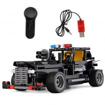 LEPIN 20020 The SWAT Command Vehicle Compatible with New Technic Car Building Blocks Bricks with USB Electric Kids Toys