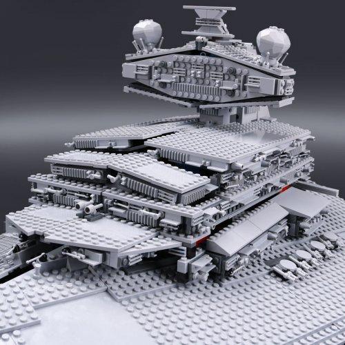 LEPIN 05027 STAR WARS DHL 3250Pcs Emperor fighters starship