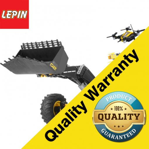 Lepin 20084 2 in 1 Technic Series Volvo Concept Wheel Loader ZEUX  Model Blocks Building Bricks Educational Toys