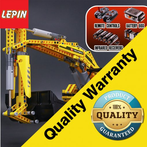 LEPIN technic 20007 Electric Remote Control Excavator Car Building Blocks Bricks Educational toys