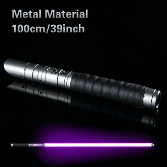 Star Wars Lightsaber Rechargeable Color Changing Sound FOC Lock up Metal Handle Sword