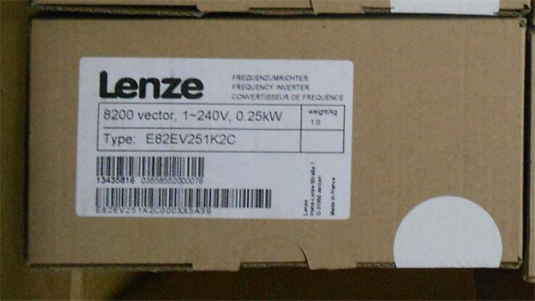 Lenze E82EV751K2C 100% Genuine Original New Sealed