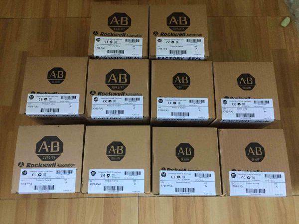 New sealed Allen-Bradley 1768-PA3 CompactLogix Power Supply 120/240 VAC Input