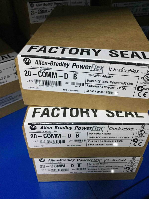 22-COMM-D Allen Bradley Original Brandy New Factory Sealed