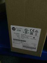 New sealed Allen Bradley 25B-D4P0N104 PowerFlex 525 AC Drive, with Embedded