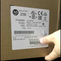 New sealed Allen-Bradley 25B-D013N114 PowerFlex 525 AC Drive 480V/13A/7.5HP
