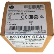 New sealed 1794-OE4 Allen Bradley Flex 4 Point Analog Output Module