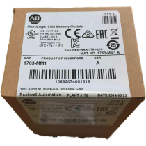 New sealed 1763-MM1 Allen Bradley MicroLogix 1100 Memory Module