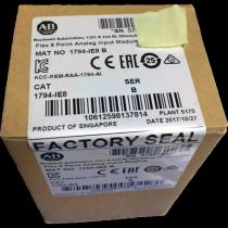 New sealed 1794-IE8 Allen-Bradley FLEX I/O Analog Current/Voltage Input Modu