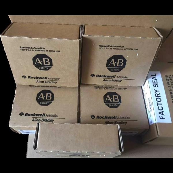 New Sealed Allen-Bradley 1756-L84E ControlLogix Logix5580 Processor, 20MB, USB/EtherNet