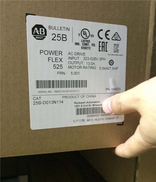 25B-D013N114 Allen Bradley Original Brandy New Factory Sealed