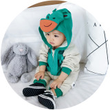 Infant winter clothes, baby animal romper, Infant winter romper, winter baby romper, baby romper