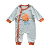 In stock newborn gowns winter baby long sleeve romper