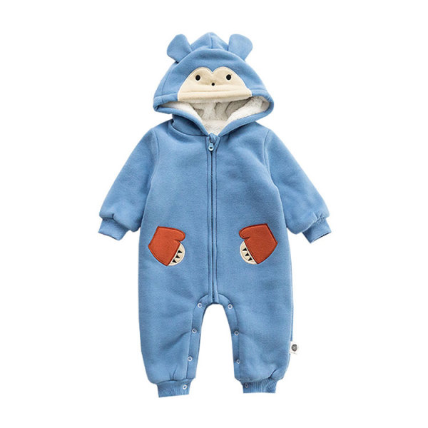 One piece baby jumpsuit zipper fashion winter baby outlet clothes