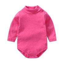 Hot sale baby clothes newborn long sleeve turtleneck bodysuits
