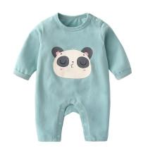Newborn baby round collar clothes romper baby jumpsuit