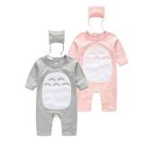 Hot selling baby pajamas cartoon baby cotton long sleeve romper