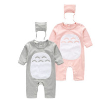 Hot selling baby pajamas cartoon baby cotton long sleeve romper