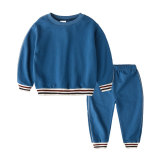 Child garment clothes long sleeve winter kids sports wear set