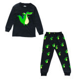 Fashion printing casual kids clothing set, winter clothes set for boys