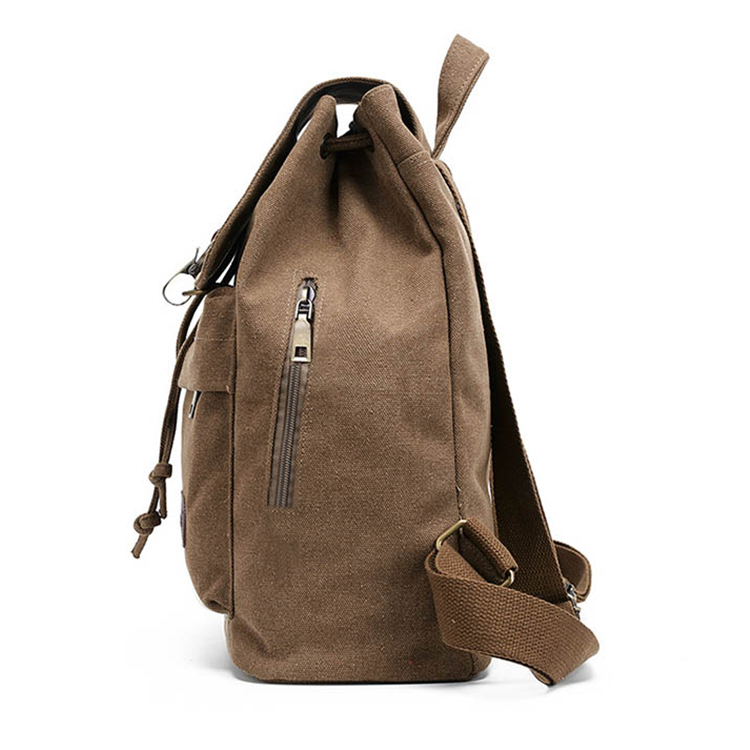 Foreign trade arts school backpack retro canvas girl school bag