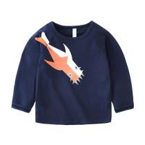 Long sleeve children t-shirt print design boys t-shirt