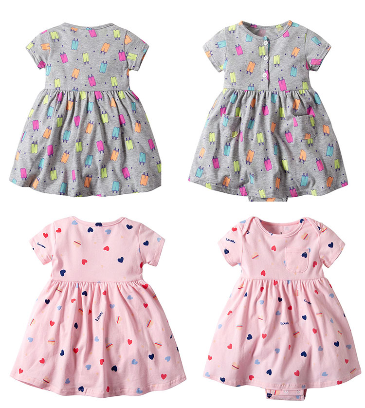 baby frock, girls romper dress, baby girl frocks dress