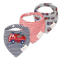 Newborn baby product cotton baby super absorbent bandana drool bibs