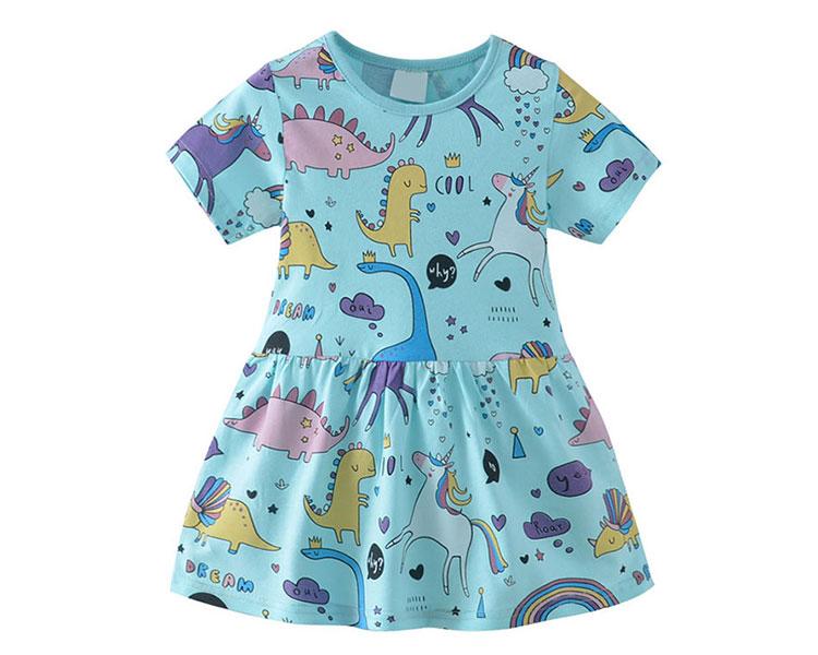 children girls dress, girls dress, girls cartoon dress