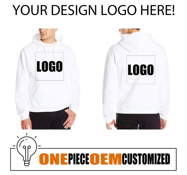 one piece customized men sweatshirt, personalized customization