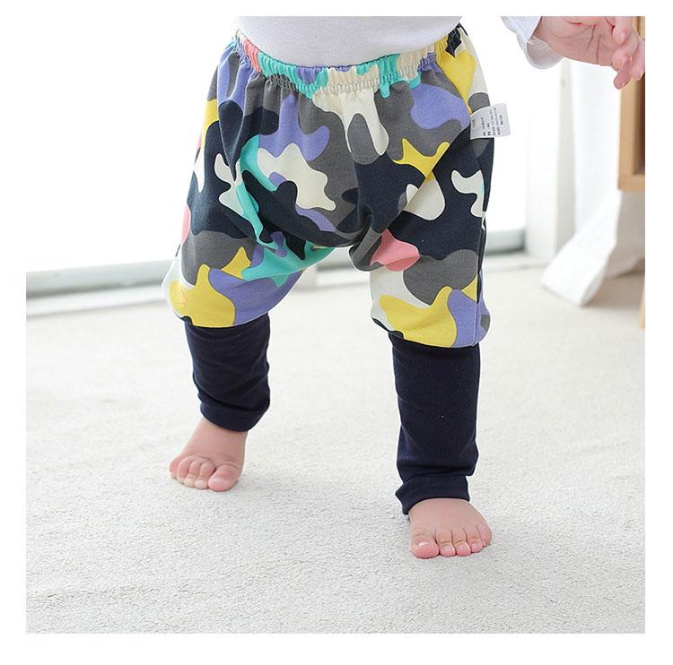 fashion design kids pants, cotton boys harem pants