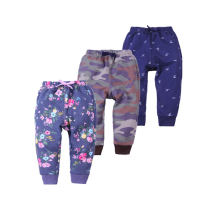 100% cotton baby boutique clothing printed girls pants