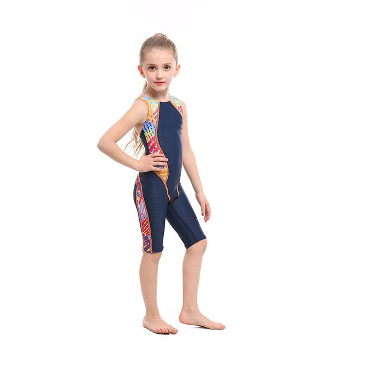 New style girls one-piece swimsuit fashion kids girls swimwear