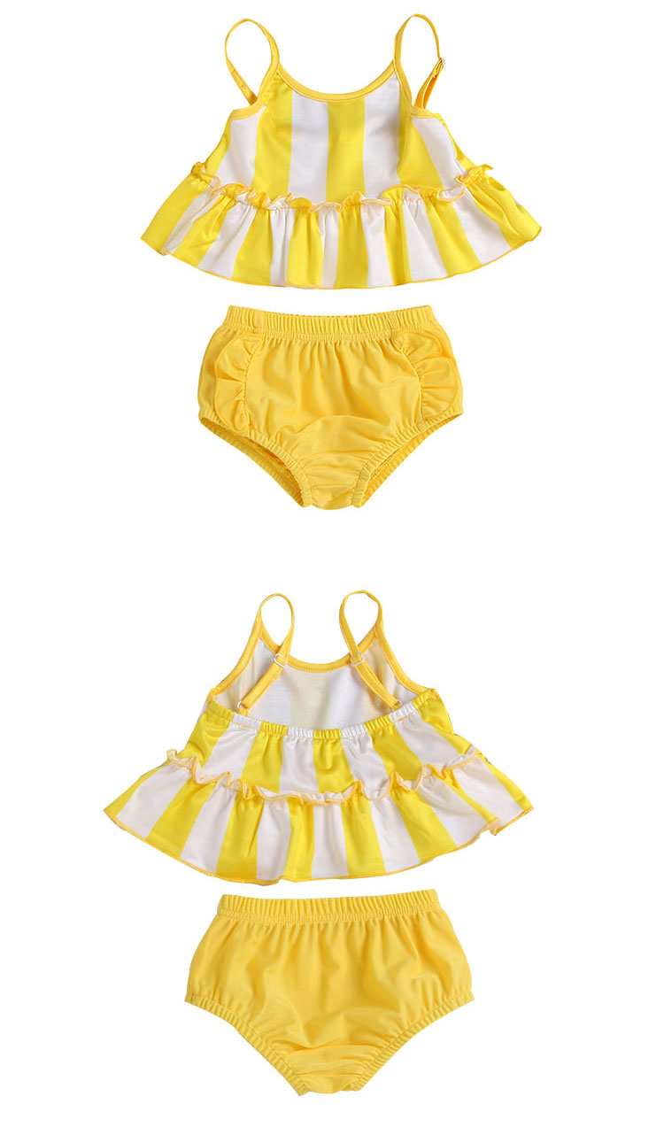 girls summer swimsuit, kids bikini swimwear