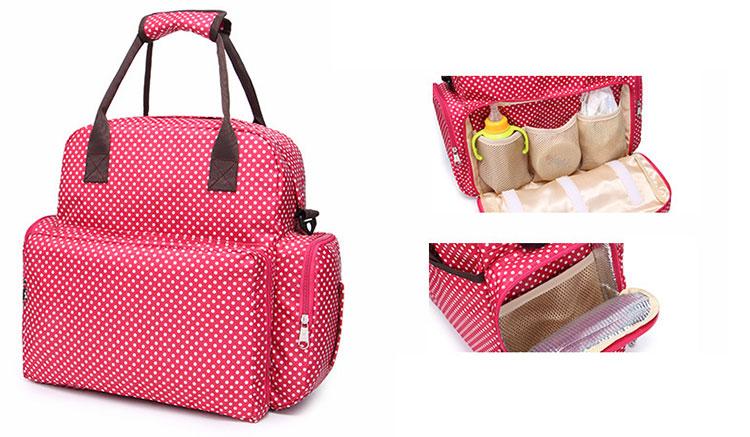 women backpack, diaper bag, nappy bag