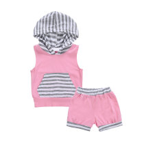 Sleeveless Baby Clothing Summer Casual Newborn Set
