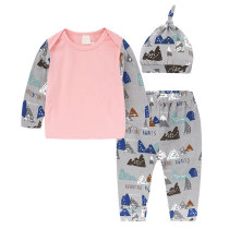 Fashionable Baby Clothing Long Sleeve Toddler Girls Sets