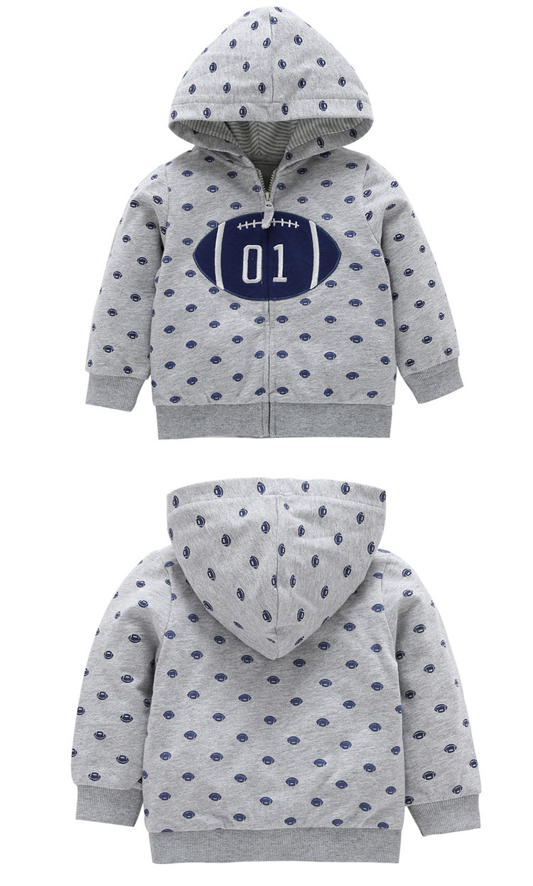 High Quality Newborn Winter Boy Clothes Casual Baby Hooded Coat