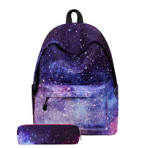 Latest Design Kids Backpack Starry Sky School Bags For Girls