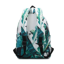 High Capacity School Bags Printing Canvas Backpack For Kids