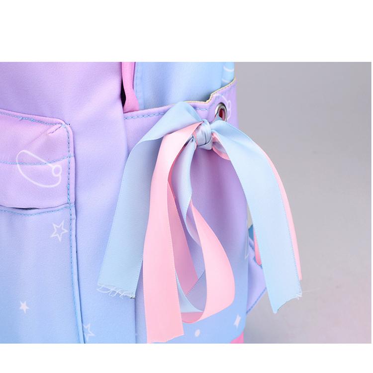 ylon backpack, school bag