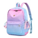 New Design Nylon Backpack Printed School Bag For Student