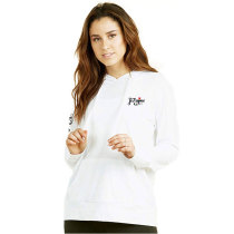 100% Cotton Terry Long Sleeve Tops Women Hoodies