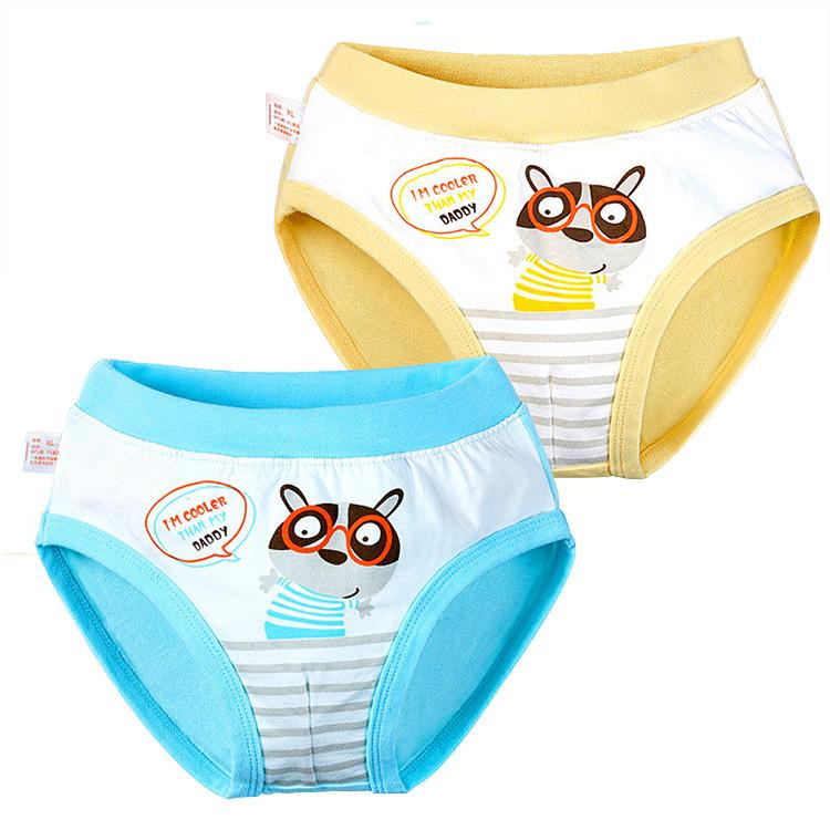 Cartoon Printed Kids Cotton Panties Little Boys Underwear
