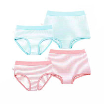 Factory Direct Kids Underwear Cotton Stripe Girls Panties