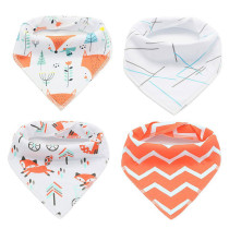 100% Cotton Waterproof Baby Bib Baby Product From China