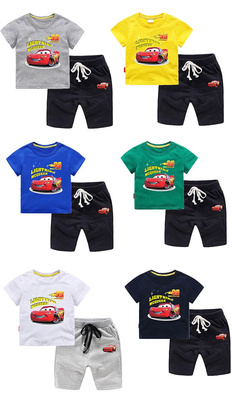Children Clothing Sets Summer Kids Suit For Boys