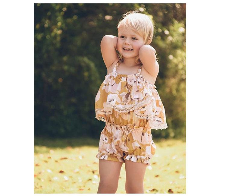 Little Girls Summer Boutique Clothing Kids Short Sets