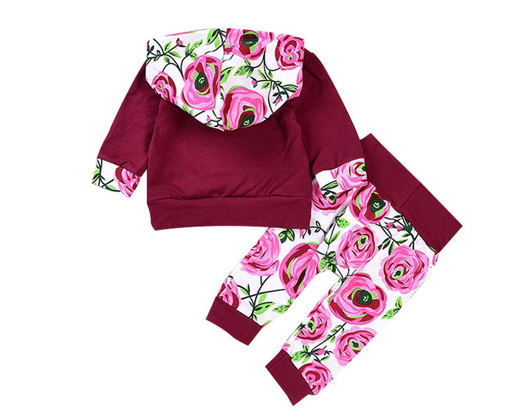 girls clothing sets, girls hoodie sets, cheap kids clothing